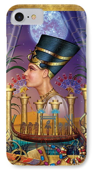 Egyptian Triptych Variant IIi Phone Case by Ciro Marchetti