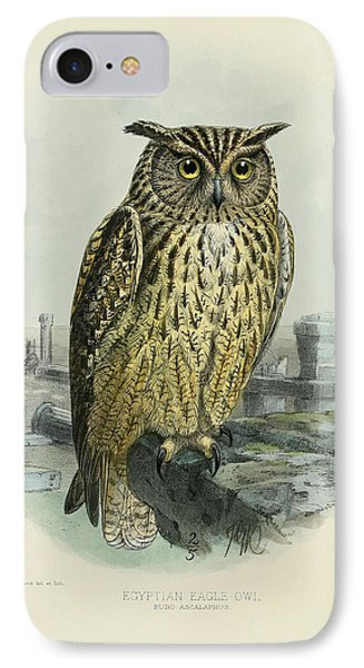Egyption Eagle Owl IPhone Case