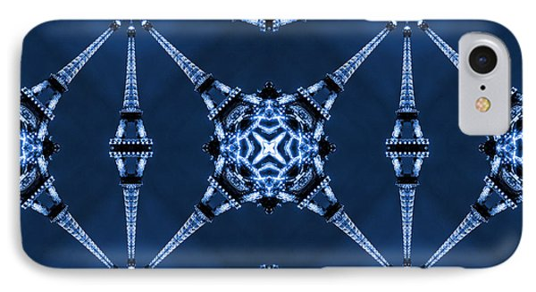 Eiffel Art 18 IPhone Case