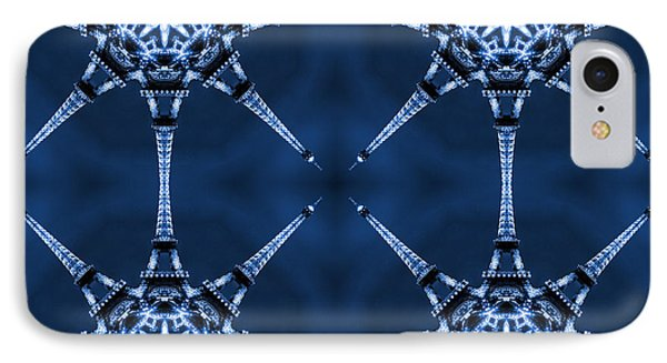 Eiffel Art 6 Phone Case by Mike McGlothlen