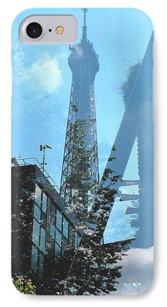 Eiffel Collage IPhone Case