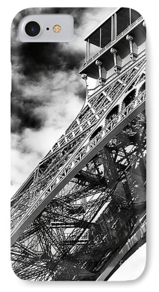 Eiffel Curves IPhone Case