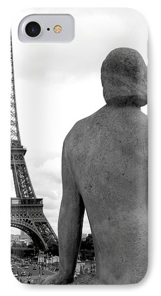 IPhone Case featuring the photograph Eiffel Lady by Lisa Parrish
