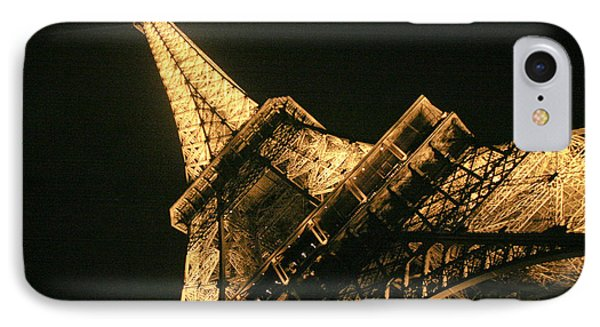 Eiffel IPhone Case by Silvia Bruno