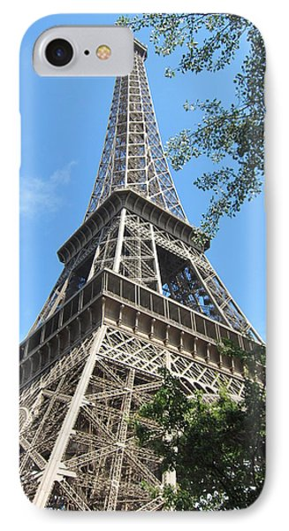 IPhone Case featuring the photograph Eiffel Tower - 2 by Pema Hou