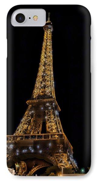 Eiffel Tower 4 IPhone Case by Mauro Celotti