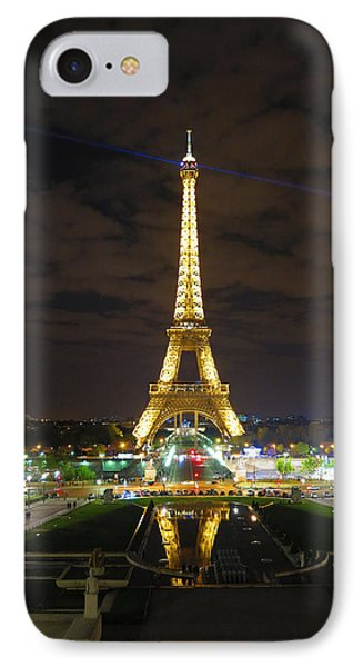 Eiffel Tower At Night 2013 IPhone Case