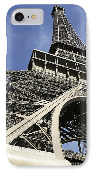 IPhone Case featuring the photograph Eiffel Tower by Belinda Greb