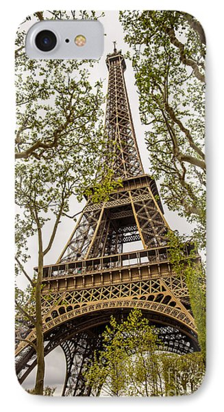 Eiffel Tower IPhone Case by Carlos Caetano