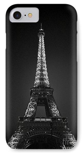Eiffel Tower Infrared IPhone Case