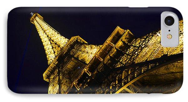 Eiffel Tower Paris France Side Phone Case by Patricia Awapara