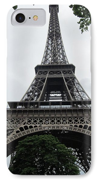 IPhone Case featuring the photograph Eiffel Tower by Pema Hou