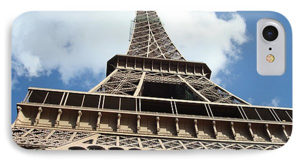 IPhone Case featuring the photograph Eiffel Tower Perspective by Kay Gilley
