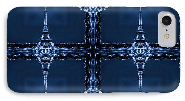 Eiffelart 28 Phone Case by Mike McGlothlen