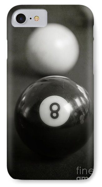 Eight Ball Phone Case by Edward Fielding