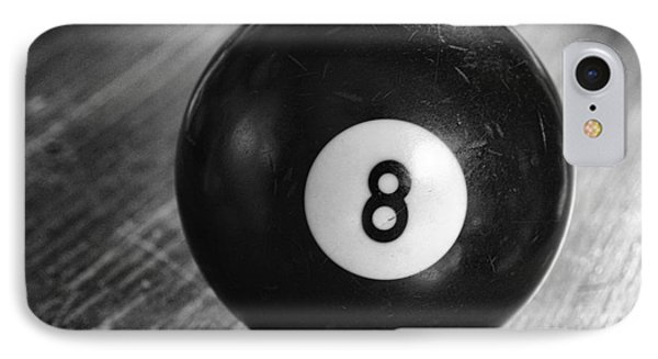 Eight Ball IPhone Case by Paul Ward