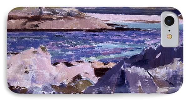 Eilean Annraidh From The North End IPhone Case by Francis Campbell Boileau Cadell