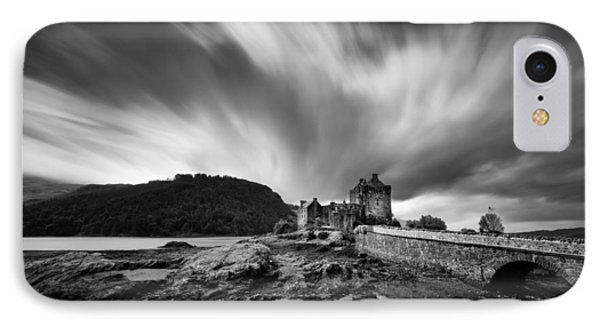 Eilean Donan Castle 2 IPhone Case by Dave Bowman
