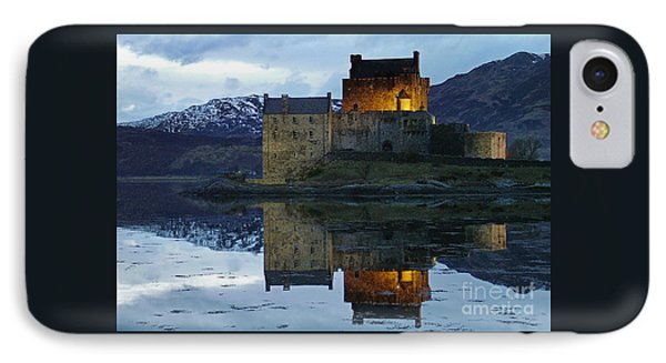 Eilean Donan Castle At Dusk IPhone Case