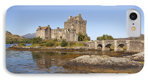 Eilean Donan Castle IPhone Case by Eunice Gibb