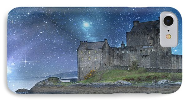 Eilean Donan Castle IPhone Case by Juli Scalzi