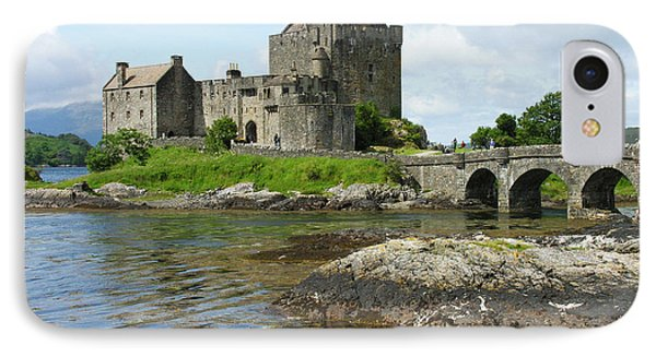 Eilean Donan Castle - Summer IPhone Case