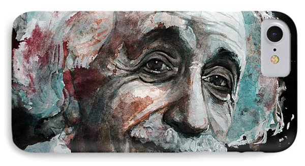 Einstein  IPhone Case by Laur Iduc