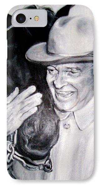 Eisenhower And Doodle De Doo IPhone Case by Martha Suhocke