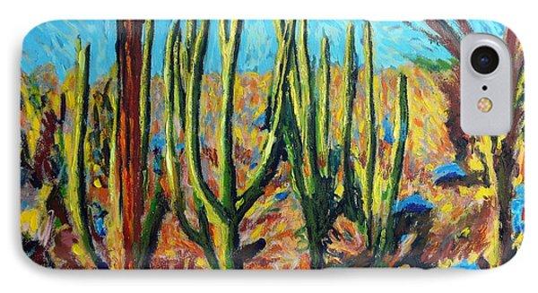 El Bosque Del Desierto IPhone Case by Gerhardt Isringhaus