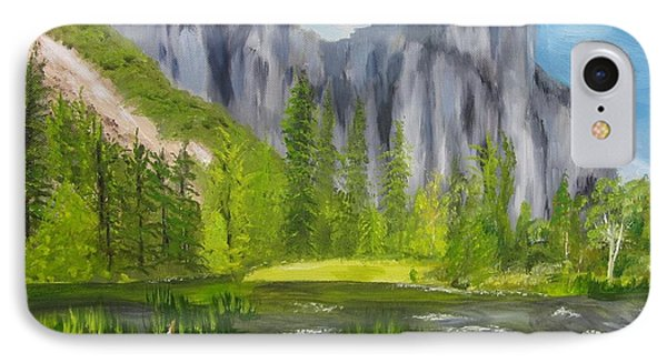 El Capitan And The River Phone Case by Sally Jones