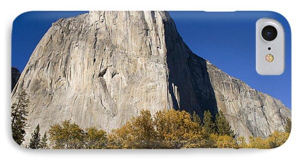 El Capitan In Yosemite National Park IPhone Case by David Millenheft