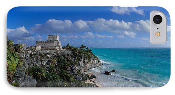 El Castillo Tulum Mexico IPhone Case by Panoramic Images