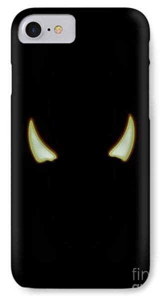El Diablo IPhone Case by Angela J Wright