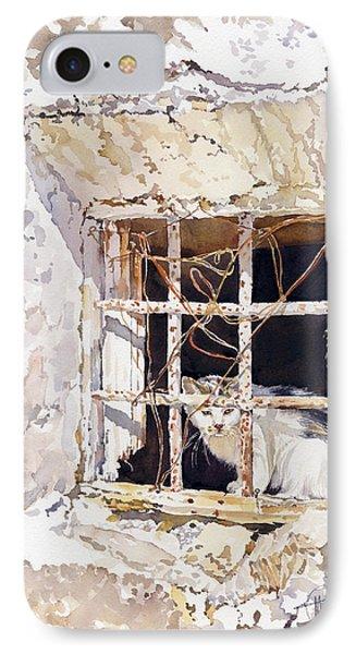 El Gato Phone Case by Margaret Merry