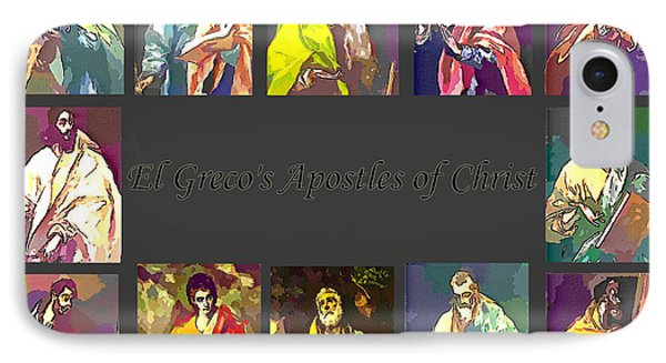 El Greco's Apostles Of Christ Phone Case by Barbara Griffin