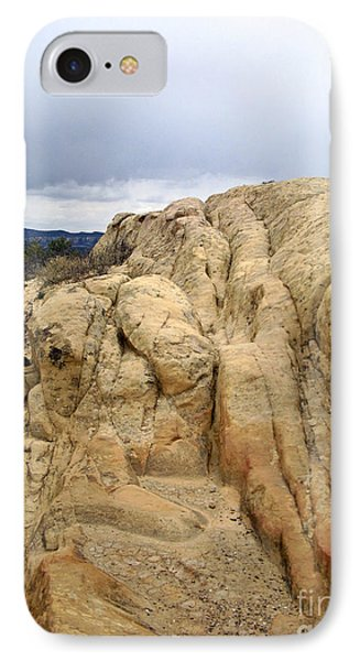 El Malpais Sand Bluff 3 IPhone Case
