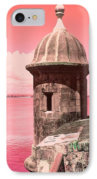 El Morro In The Pink IPhone Case