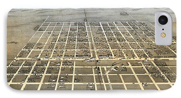 El Paso Illinois 1869 Map IPhone Case by Stephen Stookey