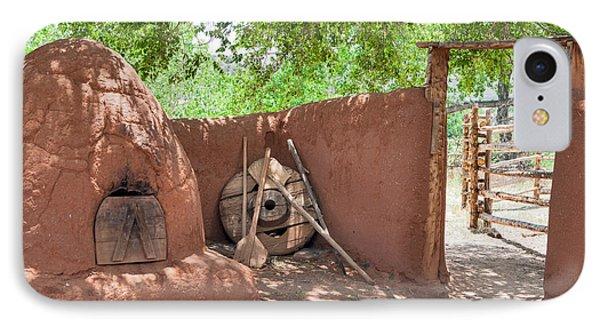 IPhone Case featuring the photograph El Rancho De Las Golondrinas by Roselynne Broussard