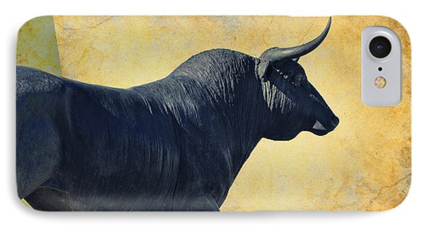El Toro  IPhone Case by Mary Machare