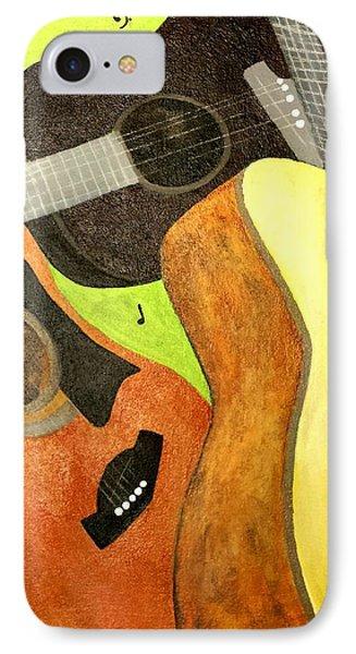 El Trio IPhone Case by Isaac Alcantar