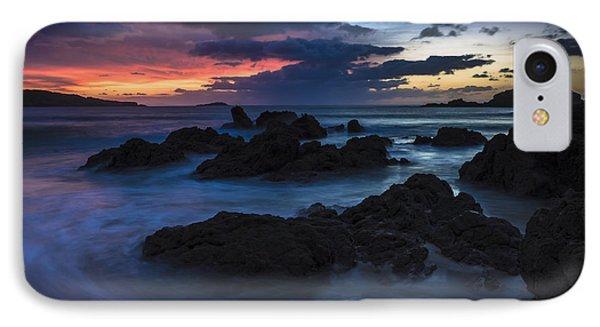 IPhone Case featuring the photograph El Villar Beach Galicia Spain by Pablo Avanzini