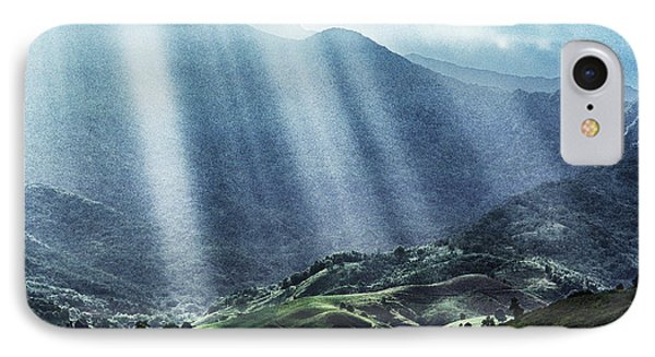 El Yunque And Sun Rays Phone Case by Thomas R Fletcher