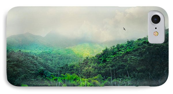 El Yunque National Rain Forest IPhone Case by Diana Angstadt