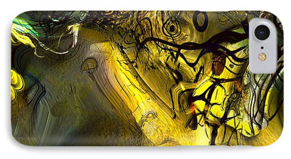 IPhone Case featuring the digital art Elaboration Of Day Into Dream by Richard Thomas
