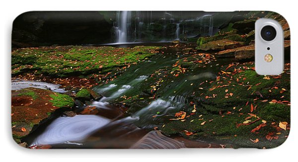 IPhone Case featuring the photograph Elakala Falls by Jaki Miller