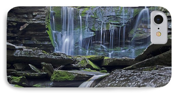 Elakala Falls Number 1 IPhone Case by Shelly Gunderson
