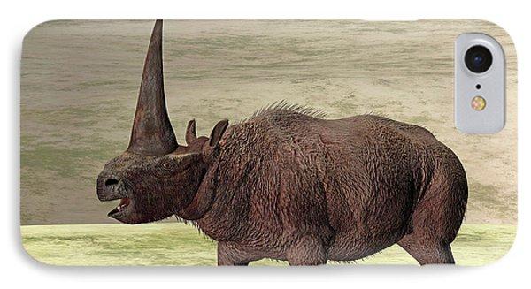 Elasmotherium IPhone Case by Friedrich Saurer