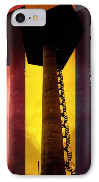 IPhone Case featuring the photograph Elastic Concrete Part Three by Sir Josef - Social Critic - ART