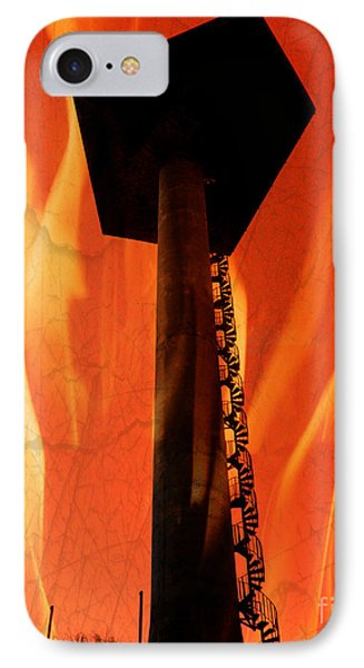 IPhone Case featuring the photograph Elastic Concrete Part Two by Sir Josef - Social Critic - ART